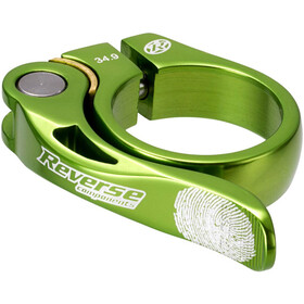 Reverse Long Life Morsetto per sella 34,9mm, light green